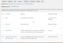 What Is Table Rate Shipping Setting Up Shipping Zones Woocommerce Docs
