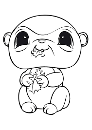 littlest pet shop coloring pages kids coloringstar