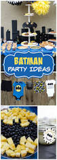 baby batman baby shower