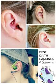 best earrings to sleep in accessories for migraine piercing and best daith earrings for