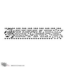 collection of 25 black polynesian arm band design