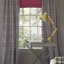 Grey Plaid Curtains Plaid Curtains And Drapes Foter