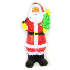 outdoor plastic lighted santa claus furniture outdoor lighted christmas decorations santa claus cool
