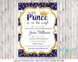 prince baby shower invitations prince baby shower invitation royal baby shower invitation