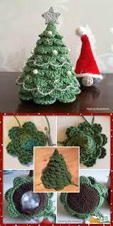 crocheted christmas crocheted christmas tree with free pattern