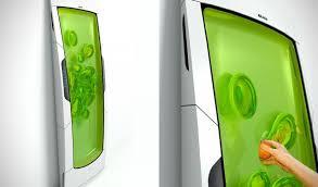 Futuristic Doors Futuristic Electrolux Bio Robot Refrigerator
