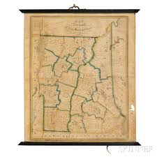 Map Of Vt Vermont And New Hampshire Lewis Robinson 1793 1871 Map Of