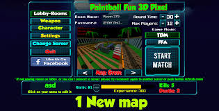 paintball fun 3d pixel online android apps on google play