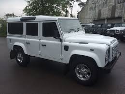 land rover jeep defender for sale used fuji white land rover defender for sale gloucestershire