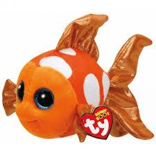 ty beanie boos sami orange fish small games