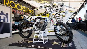 rockstar motocross gear behind bars jason anderson u0027s rockstar energy husqvarna