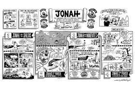 the bible project the book of jonah poster the bible project