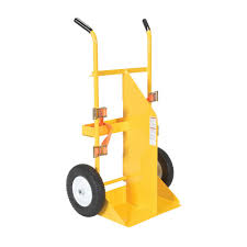 Flat Dolly Home Depot by Vestil 58 In Welding Cylinder Torch Cart With Foamed Filled Wheel