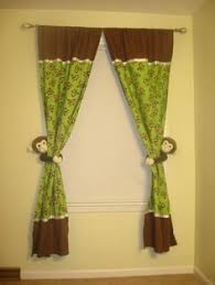 Jungle Curtains For Nursery Green Curtains For Nursery Thenurseries