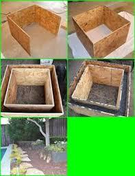 Concrete Planters Diy Concrete Planter Garden Art Pinterest Diy Concrete