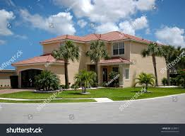 beautiful twostorey house on corner stock photo 3228921 shutterstock