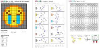 colouring by trig ratios sad tears emoji solo mosaic by