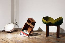 Post Modern Furniture by Raw Edges Duo Displays Dynamic Dramatic Furniture In Brussels