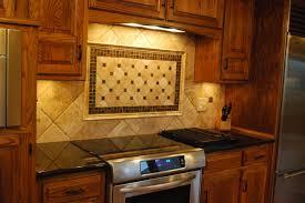 Black Granite Countertops With Tile Backsplash Tile Backsplashes - Backsplash for black granite
