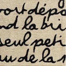 Le Poeme Indoor Outdoor Rug Le Poeme Indoor Outdoor Rug Black Ballard Designs La Cigale Et