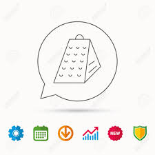 symbole cuisine icône de râpe signe d outil de cuisine symbole de trancheuse de