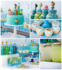 kara u0027s party ideas octonauts themed birthday party ideas decor