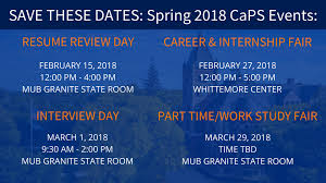career events for students unh career and professional success