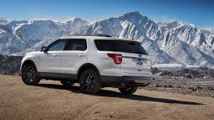 suv ford explorer 2017 ford explorer xlt gets sport appearance package at chicago