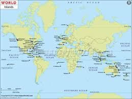 islands map world islands map islands of the world