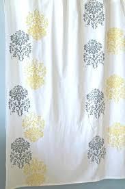 Yellow And Grey Curtain Panels Astonishing Yellow Grey Curtains Aqua Teal Yellow And Gray