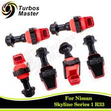 nissan skyline dr30 for sale 6 pcs ignition coil pack fits nissan skyline r34 gtt er34 enr34