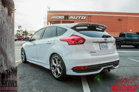 ford focus st aftermarket eibach lowered 2015 ford focus st gets wagner tuning intercooler