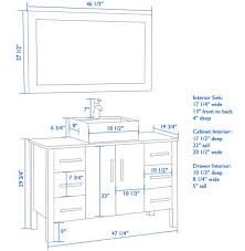 Bathroom Cabinet Height For Bathroom Cabinet Height Bathroom Decor Ideas