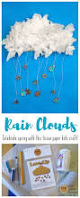 spring rain cloud kids craft