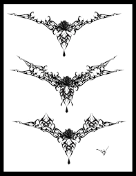 tribal bat tattoo design art in 2017 real photo pictures images