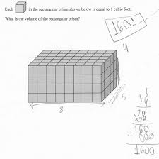 find the volume students are asked to count unit cubes to