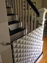 Baby Gate Stairs Banister Curly Diy Fabric Baby Gate