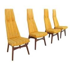 adrian pearsall high back dining chairs from a unique collection