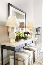 Sofa Table Decor by Best 20 Extra Long Console Table Ideas On Pinterest Table