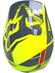 fox motocross helmet fox yellow 2017 v1 race kids mx helmet fox freestylextreme
