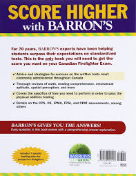 barron u0027s canadian firefighter exams trevor edmonds 8601400459744