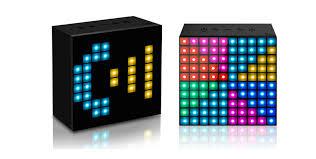 led light bluetooth speaker the divoom aurabox is a bluetooth speaker led light board