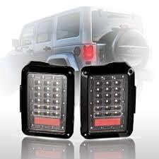 jeep jk led tail light bulb led tail lights for 07 15 jeep wrangler tail light brake reverse
