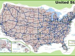 Map Of Se Usa by Download Road Map Of Us Major Tourist Attractions Maps