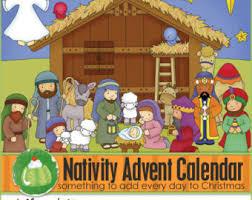 nativity advent calendar nativity file folder downloadable pdf only