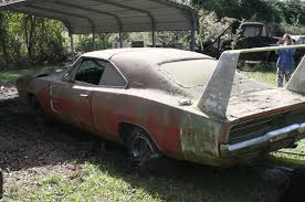 Barn Full Of Classic Cars Barn Find 1969 Dodge Daytona Charger Discovered In Alabama