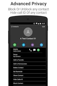 call dialer apk black caller screen dialer apk for android