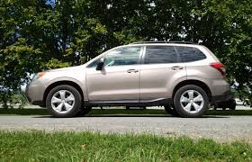 lowered subaru forester suv review 2014 subaru forester 2 5i driving