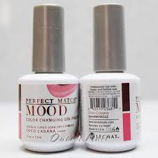 lechat perfect match mood mpmg52 coco cabana color changing gel
