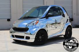 chrome wrapped cars smart car wrapped in chrome superior auto design chrome